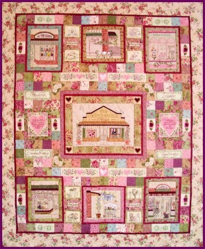 Girls Day Out Quilt - Kit or Pattern or Block of the Month (preferred) - I'm not fussed ... but don't forget the buttons :)