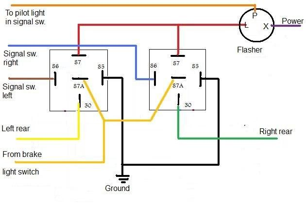 How Do I Wire Up A 2pin Blinker Can In 2021 Wiring Diagram Motorcycle Wiring Relay