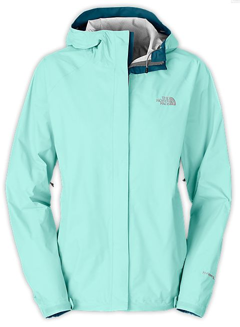 Mint or white (black is always a good go to color too) rain jacket. #Northface