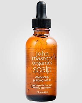 John Masters Organics Несмываемая сыворотка для глубокого очищения кожи головы. 59 мл.