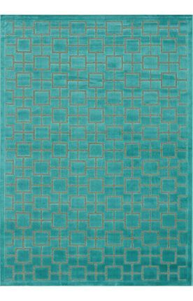 Perfect turquoise color rug