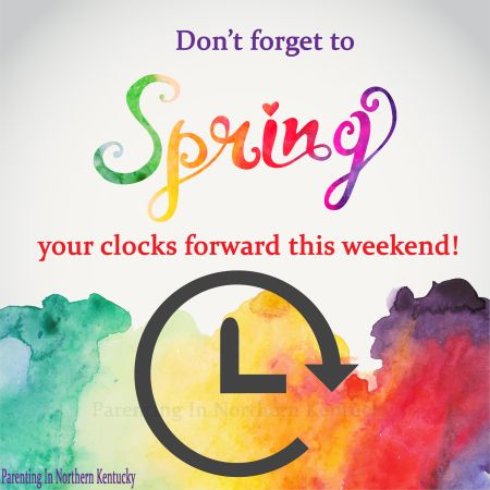 Daylight Savings Time: Spring Forward 2014 ~ May your days be filled with sunshine and your children sleep in!