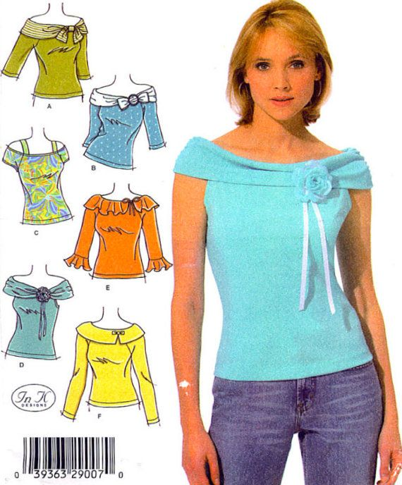PLUS SIZE TOP Sewing Pattern