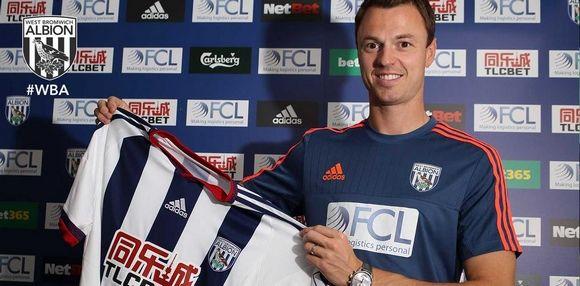 Jonny Evans - West Bromwich Albion