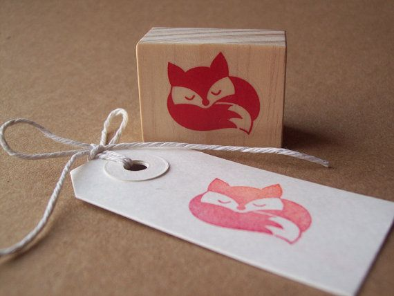 Hey, I found this really awesome Etsy listing at http://www.etsy.com/listing/107342067/sleeping-fox-rubber-stamp-curled-up-fox