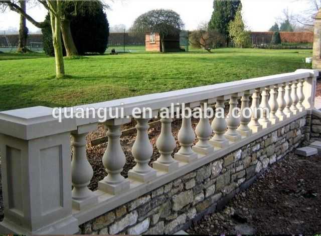 Source High strength anti-corrosion exterior GRC railing baluster for construction on m.alibaba.com