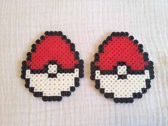 Hey, I found this really awesome Etsy listing at https://www.etsy.com/listing/184179016/pokeball-easter-egg-pokemon-perler-bead