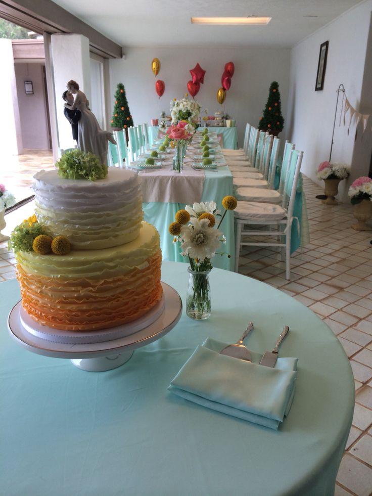 ケーキ&テーブル