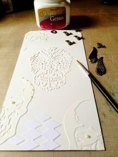 Modeling Paste and Gesso How-to