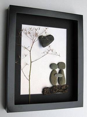 Fotolijst stenen
