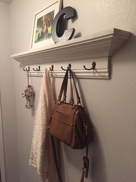 Picture of Easy Inexpensive Crown Molding Wall Shelf