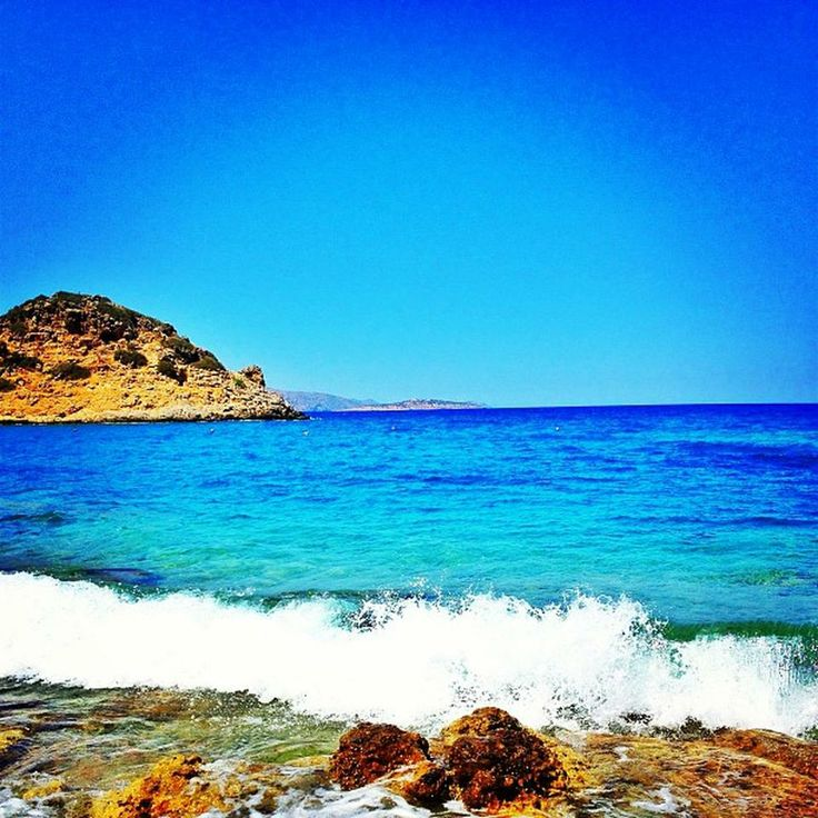 Ammoudara #beach #Crete #summerholidays