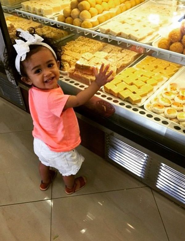Chris Brown's Daughter Royalty — Pics