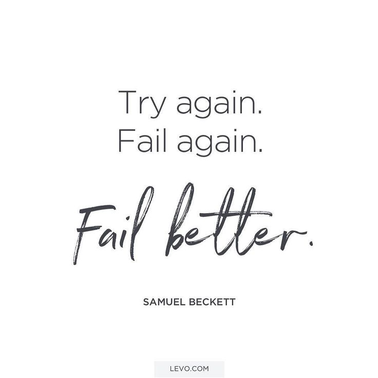 Fail better. Fail Faster. Move forward. Uplifting messages from some of our favorite leaders to start your Friday. http://levo.im/1n1Wsxp