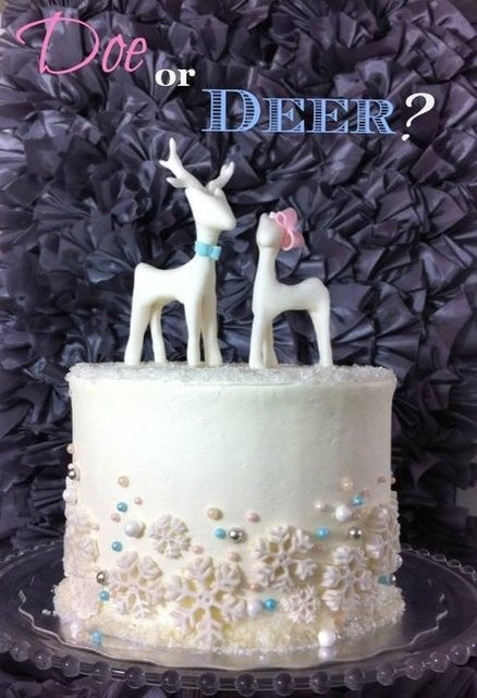 10 Best Images About Gender Reveal Cakes On Pinterest