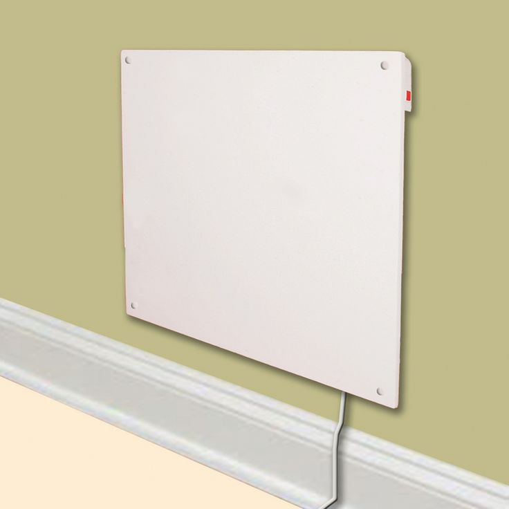Electric Wall Heaters for Homes | Cozy-Heater Electric Wall-Mounted Panel Heater — 1365 BTU, Model ...