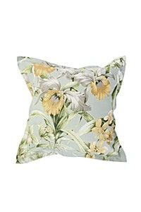 PRINTED COUNTRY FLORAL 55X55CM SCATTER CUSHION