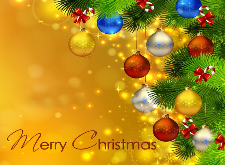 lovely merry christmas wallpaper
