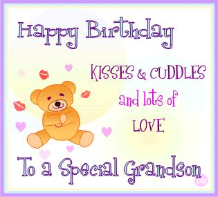 Happy Birthday Quotes For Grandson