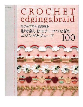 Crochet Edging & Braid 2 free ...fun to make them bracelets, bookmarks, etc :)