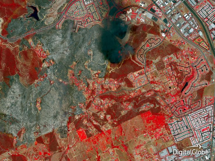 From an Arctic mine to refugees fleeing fighting in the Middle East, DigitalGlobe's WorldView-3 commercial satellite caught all aspects of life on Earth in 2014, with more detail than ever.