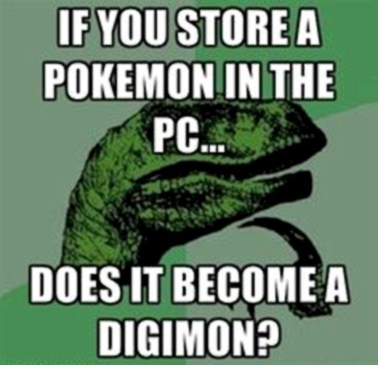 These Digimon Anime Memes are Super Funny: Velociraptor Digimon Meme