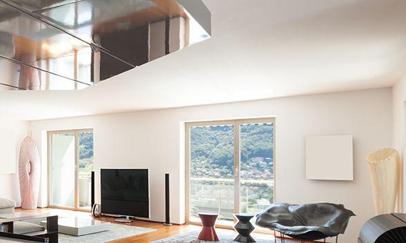 Usa ventanales del techo al piso para poder realizar nuestras actividades diarias con luz exterior. #nuestroladodeco #diseño #deco #decoracion #ecologico #modernidad #arquitectura