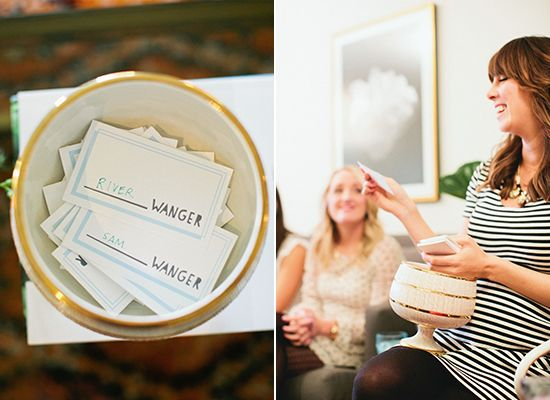 Margaux's bright, modern baby shower by Bash Please