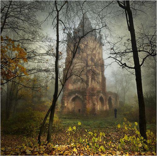 Bosque Místico Castle, Romania foto a través de magicalnaturetour