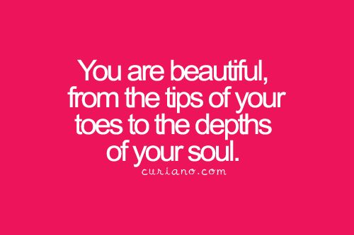 You are beautiful to Jesus and to so many people! Please don't fool yourself into thinking you are nothing because you are a treasured creation with so much to give to this world! You have one life to live so live it for Jesus!! :)