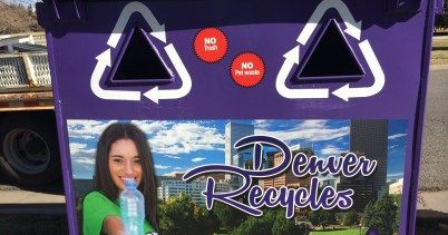 A new recycling program will start Thursday, in Washington Park and Cheesman Park, Denver Public Works announced.