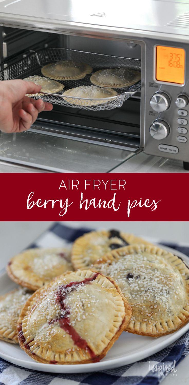 Delicious air fryer berry hand pies dessert recipe idea