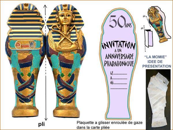 DEMANDE : EGYPTE ETERNELLE ET PYRAMIDE pour anniversaire adulte