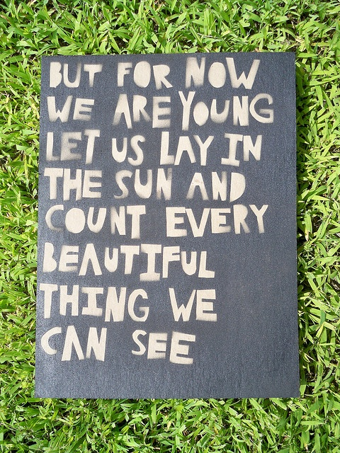 Always stay young at heart.