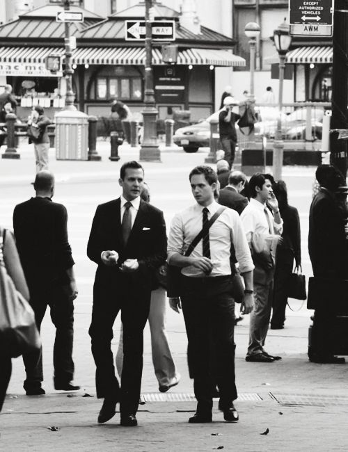 "Gabriel Macht and Patrick Adams, ""Suits"""