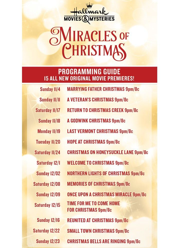 Hallmark Channel Breaks Record With 37th Christmas Movie Complete U Hallmark Christmas Movies List Hallmark Channel Christmas Movies Hallmark Christmas Movies
