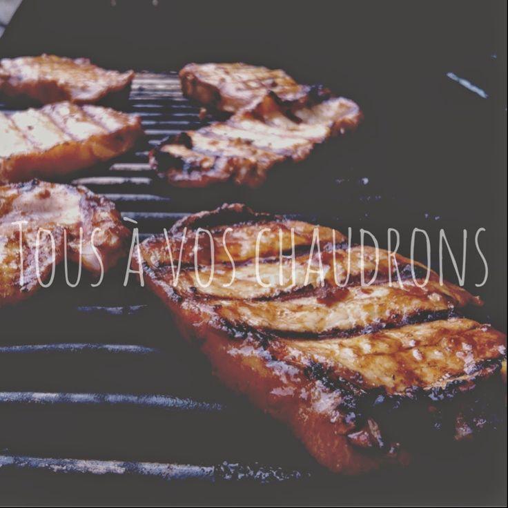 Tous à vos chaudrons: Côtelettes de porc au gingembre et à l'ail