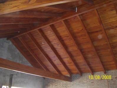 Techos vigas a la vista buscar con google techos - Vigas de madera para techos ...