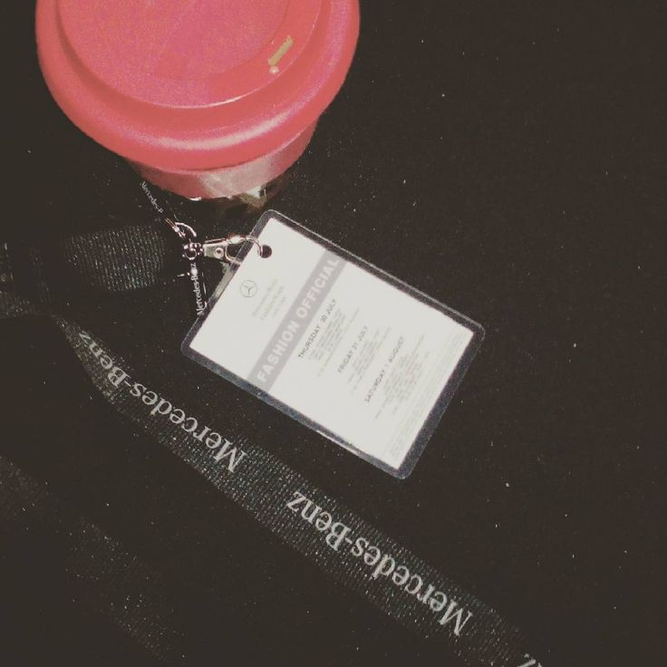 Fashion Official Accreditation. Cape Town Fashion Week.
