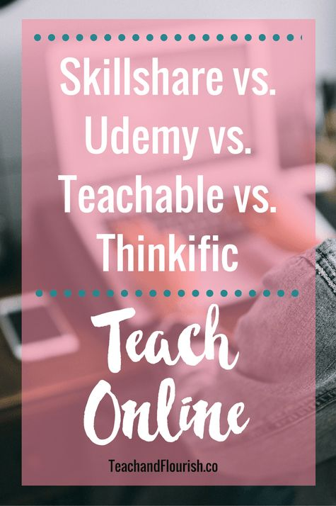Where to teach online | Skillshare vs. Udemy vs. Teachable vs. Thinkific