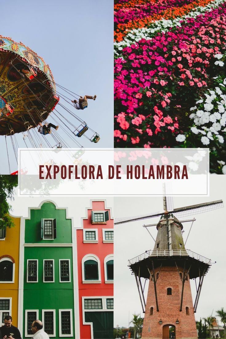 Todas as atrações da Expoflora de Holambra. Viagens no interior de São Paulo.