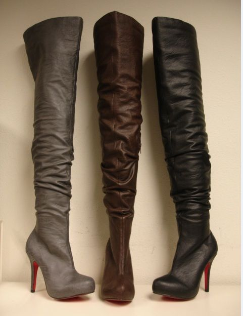 Best 20  Thigh high heels ideas on Pinterest | Thigh high boots ...