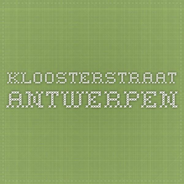 Kloosterstraat Antwerpen Antiekwinkels