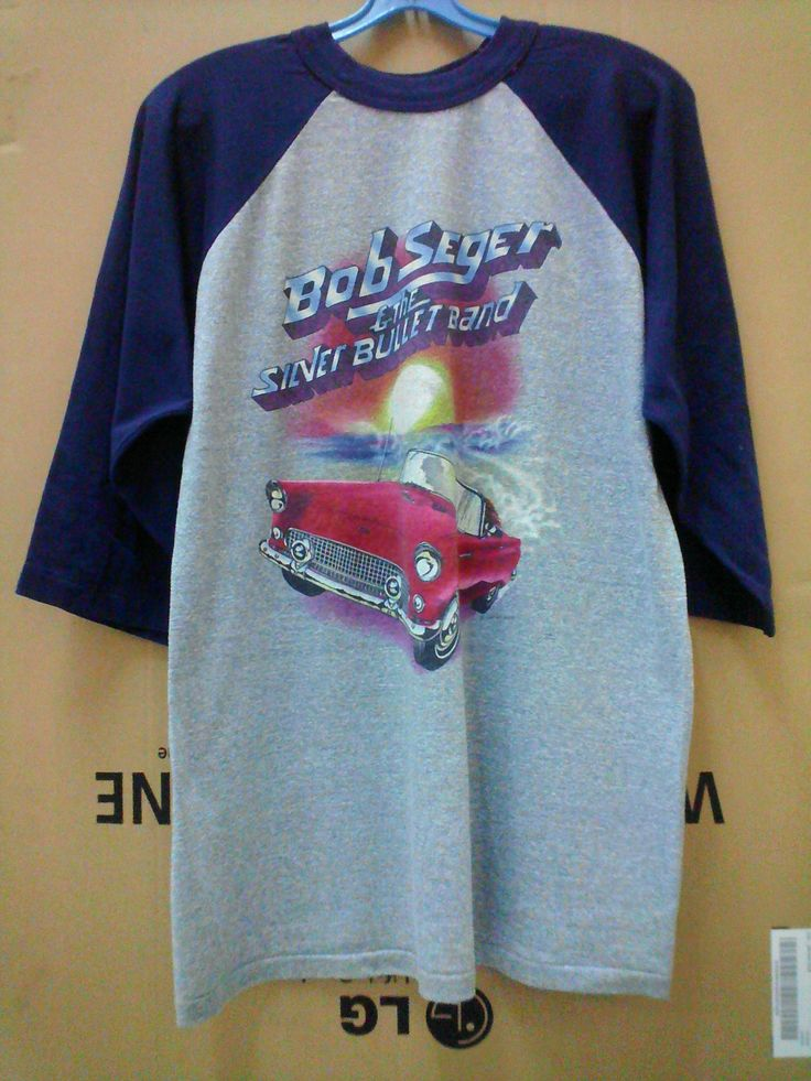 Vintage Bob Seger & The Silver Bullet Band - The Distance Tour 1983 by 89bleach on Etsy
