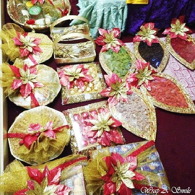 Indian Wedding Gift Decoration : ... tray gift wedding packing wedding tray gift packing vijay pin 11