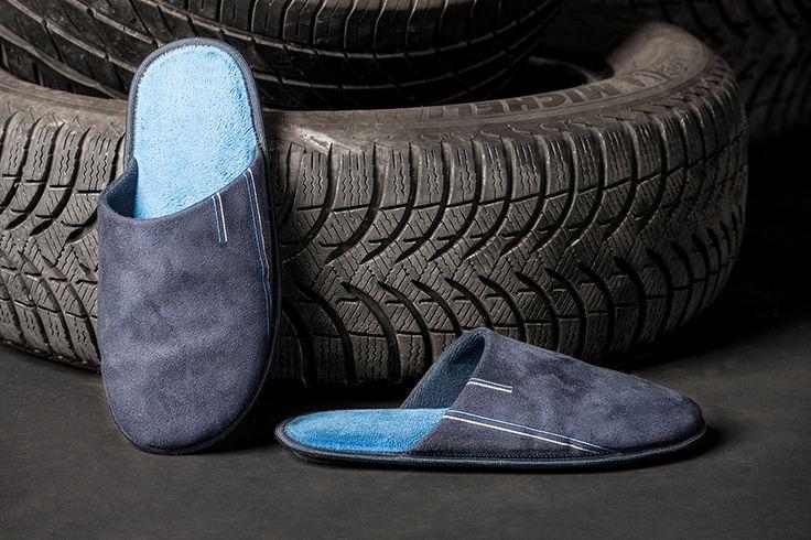 Zapatillas basic con suela antideslizante de goma de Soy Sleep&Homewear