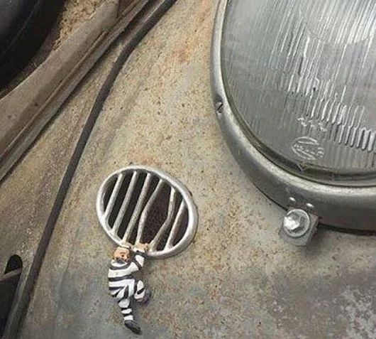 Classsic VW  Terpidana yang mau kembali kejalan yang benar (masuk bui lagi)
