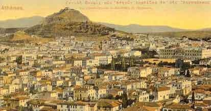 old_athens view from Acropolis
