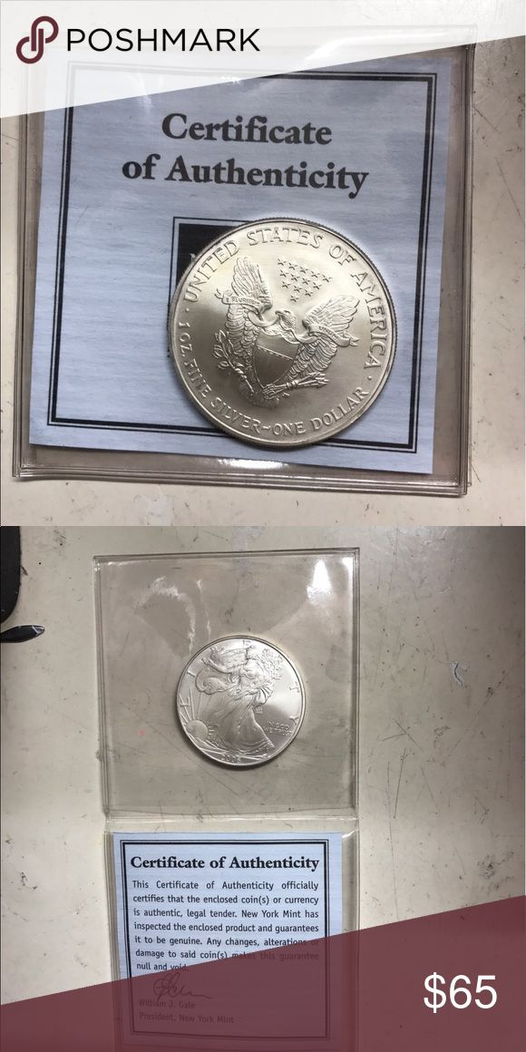 100% AUTHENTIC SILVER COIN Price negotiable! Other