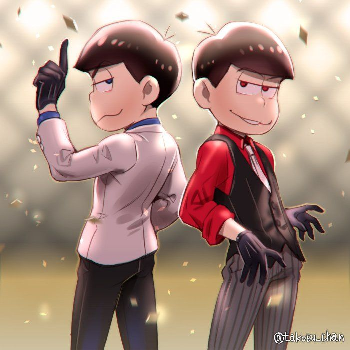 Osomatsu-san- Osomatsu & Karamatsu #Anime「♡」 담아간 이미지